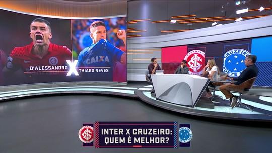 """Comentaristas do Seleção SporTV empatam duelo entre Internacional e Cruzeiro: """"Equilíbrio total"""""""