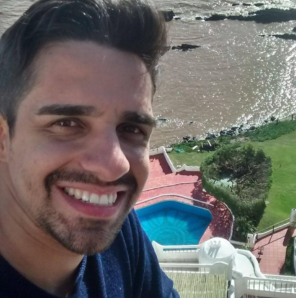 Leandro era considerado experiente, com mais de mil saltos de paraquedas — Foto: Arquivo Pessoal