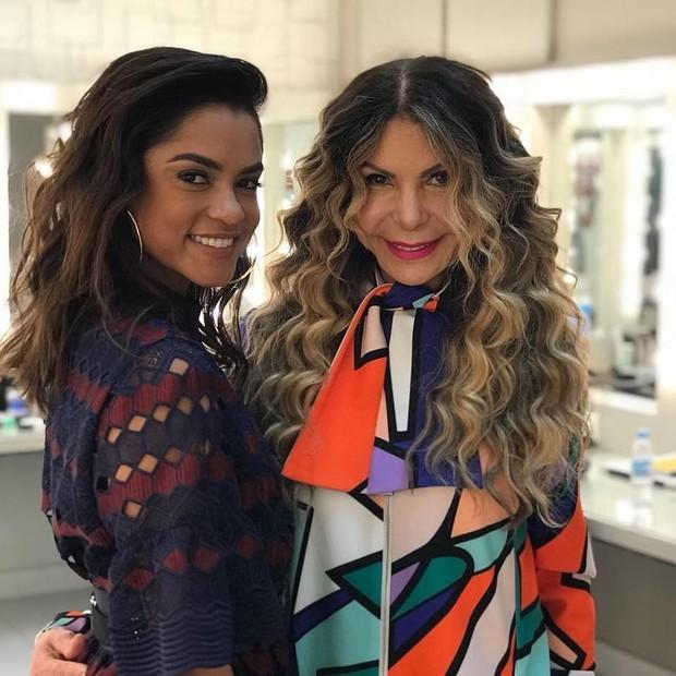 Lucy Alves e Elba Ramalho (Foto: Reprodução/Instagram)