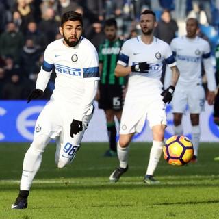 Gabigol, Gabriel Barbosa, Sassuolo x Internazionale (Foto: Elisabetta Baracchi/ANSA via AP)
