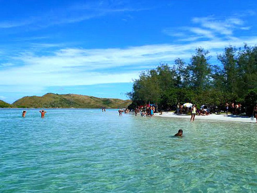 Ilha do Japonês, em Cabo Frio, terá mutirão de limpeza (Foto: Internauta)