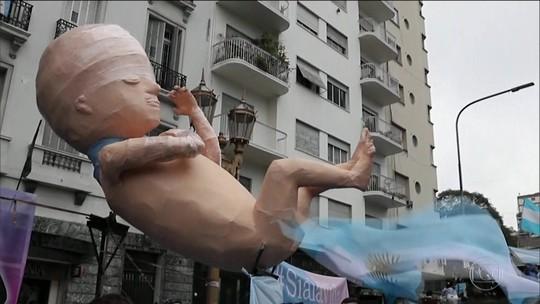 Senado argentino derruba projeto de lei que liberava aborto até a 14ª semana