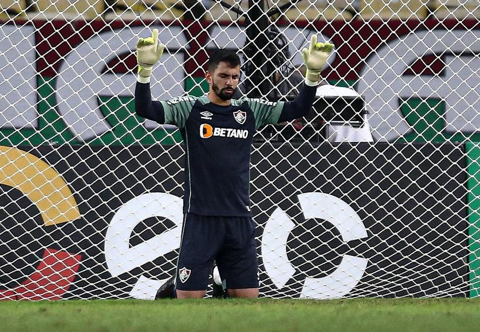 Marcos Felipe vem sendo um dos destaques do Fluminense em 2021 — Foto: Lucas Merçon / Fluminense FC