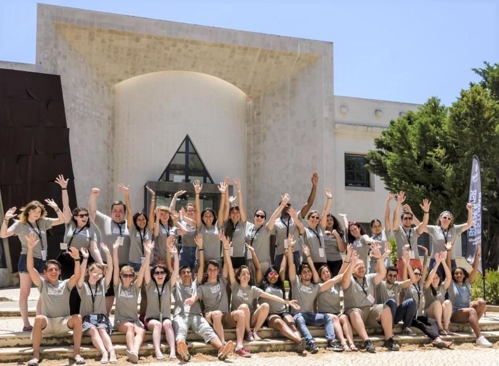 Brasileiros em uma das edições do curso de verão na Universidade do Algarve
