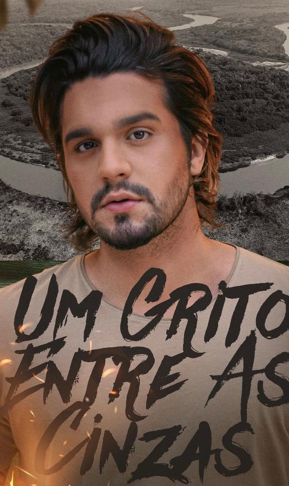 Luan Santana lança clipe — Foto: Divulgação