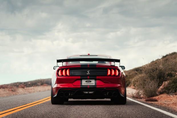 Ford Mustang Shelby GT500 2020 (Foto: Divulgação/Ford)