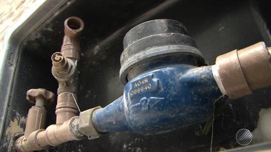 Medidores de consumo de água são roubados no bairro de Fazenda Coutos, em Salvador