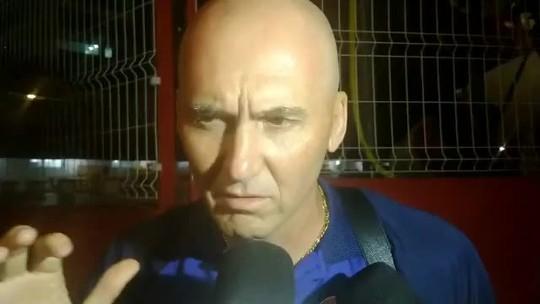 """Após novo adiamento de jogo do Náutico, Dal Pozzo minimiza futebol: """"Pessoas morreram"""""""