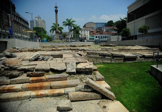 Cais do Valongo, no Rio de Janeiro (Foto: Tomaz Silva/Agência Brasil)