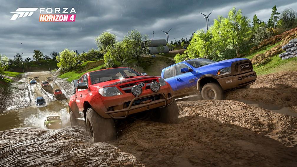 -    39;Forza Horizon 4  39; acontece no interior da Grã-Bretanha  Foto: Divulgação/Microsoft