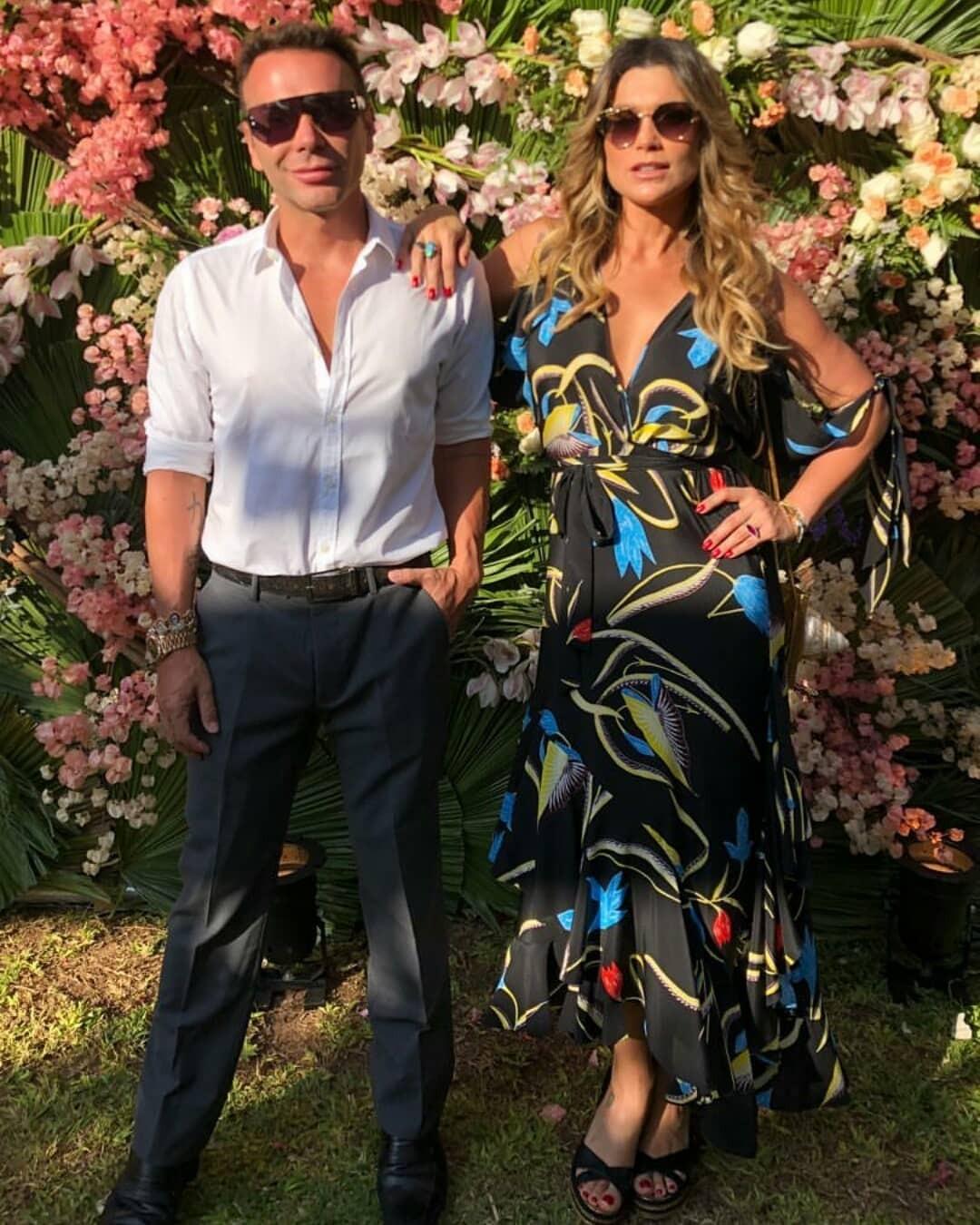 Matheus Mazzafera e Flávia Alessandra (Foto: Reprodução/ Instagram)
