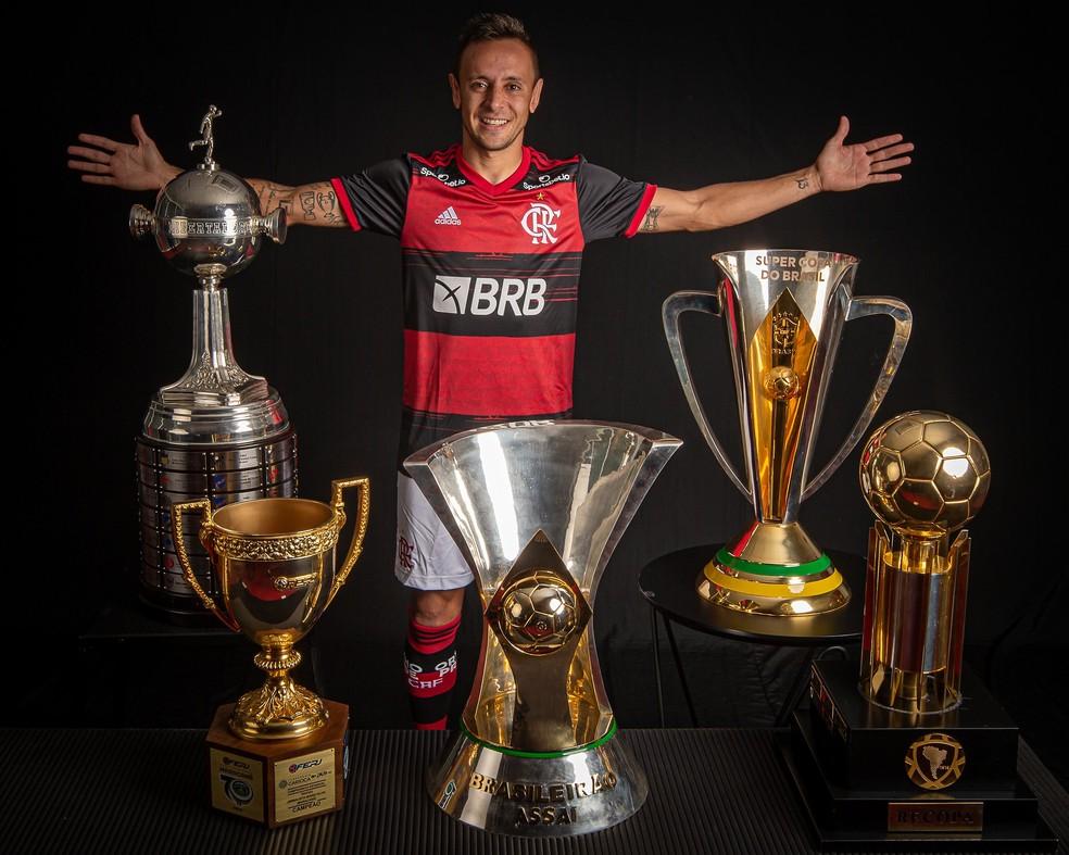 Rafinha Flamengo — Foto: Alexandre Vidal / Flamengo