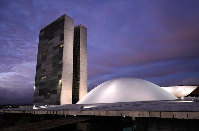 Congresso Nacional. Cúpula do Senado (Foto: Pedro França / Agência Senado)