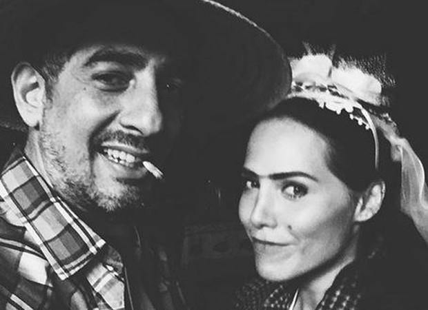 Leticia Colin e Michel Melamed curtem festa junina (Foto: Reprodução/Instagram)