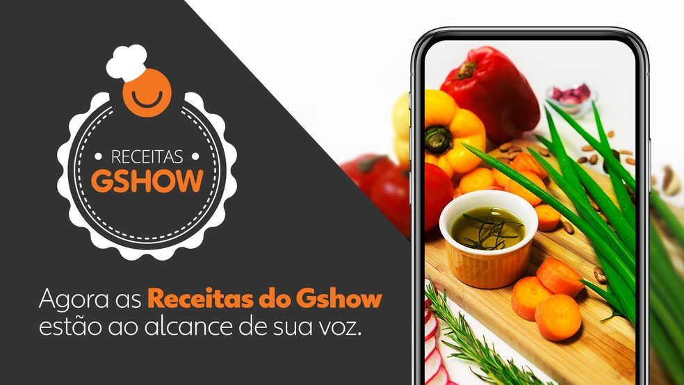 O assistente Receitas Gshow ajuda você a cozinhar e reúne os nossos pratos e dos programas da TV Globo â?? Foto: Arte: Fabrício Bianchi/Gshow