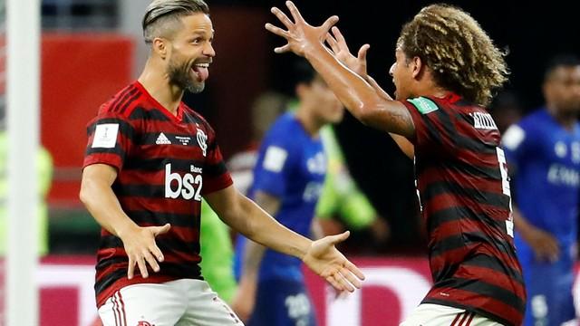Flamengo x Al Hilal Diego Willian Arão Mundial de Clubes