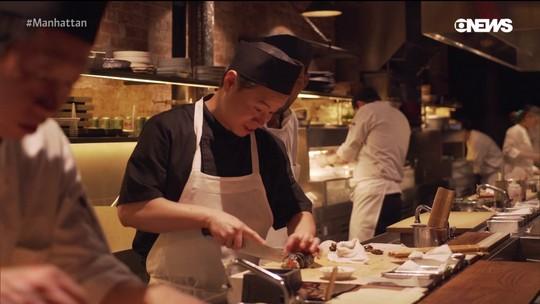 Pedro Andrade visita restaurante Tetsu, um dos melhores sushis da Costa Leste americana