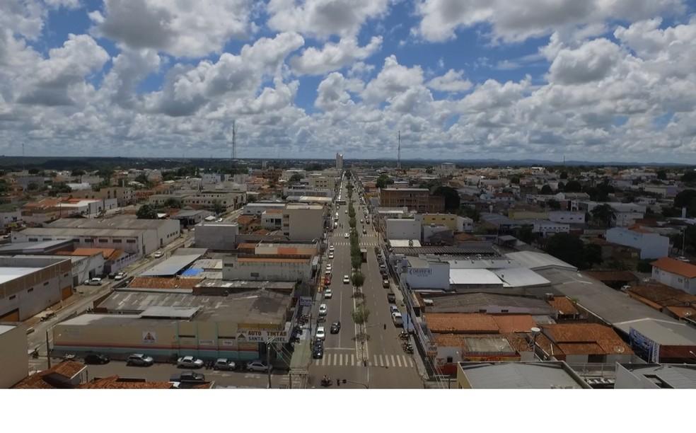 Vista da região central de Gurupi — Foto: Divulgação/Prefeitura de Gurupi