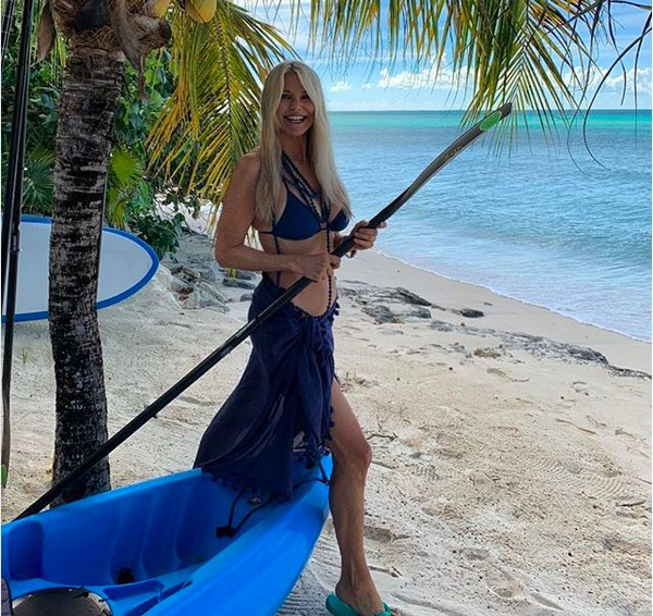 A modelo Christie Brinkley (Foto: Instagram)