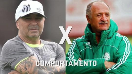 Seleção SporTV faz comparativo entre os estilos de Felipão e Sampaoli