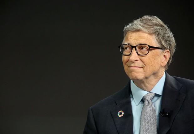 Bill Gates em evento sobre os 17 objetivos da ONU para transformar o mundo (Foto: Yana Paskova/Getty Images)