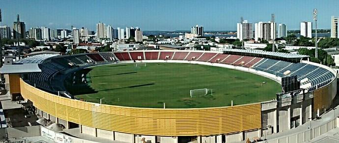 Resultado de imagem para estadio batistao aracaju