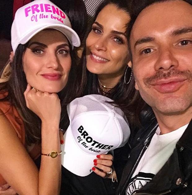 Isabella Fiorentino, Fernanda Motta e Matheus Mazzafera estavam entre os convidados (Foto: Reprodução/Instagram)