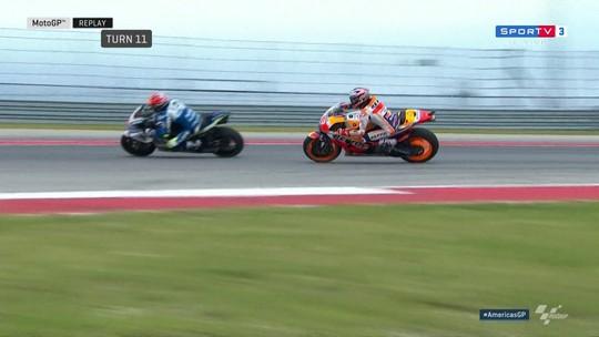 Márquez atrapalha Viñales em volta rápida, é punido e perde pole position