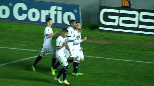 Willian Popp garante empate para o Figueirense no fim, gera confusão e acaba expulso; assista