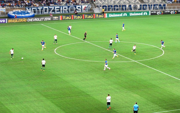 Cruzeiro X Palmeiras (Foto: Marcelo Hazan)