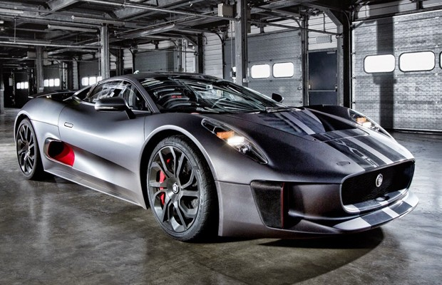 Jaguar C X75 Ser 225 Carro Do Vil 227 O No Novo 007 Auto