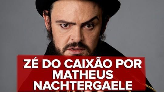 Matheus Nachtergaele convence na pele e nas unhas de Zé do Caixão