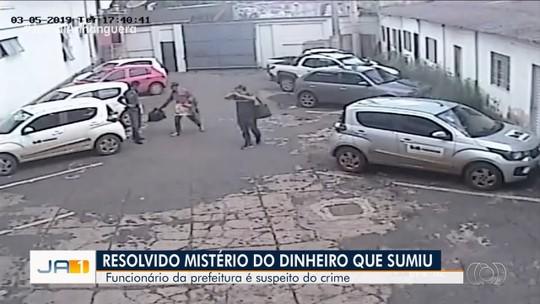 Polícia termina inquérito sobre furto de R$ 15 mil da Prefeitura de Formosa