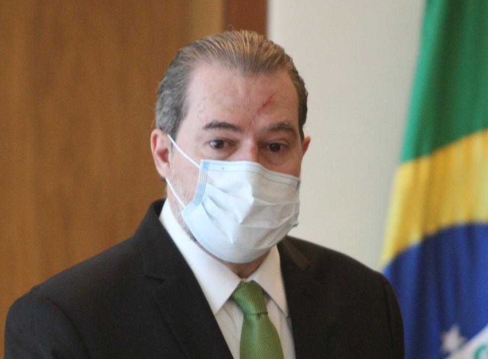 O ministro Dias Toffoli, presidente do Supremo Tribunal Federal — Foto: Nelson Jr. / SCO / STF