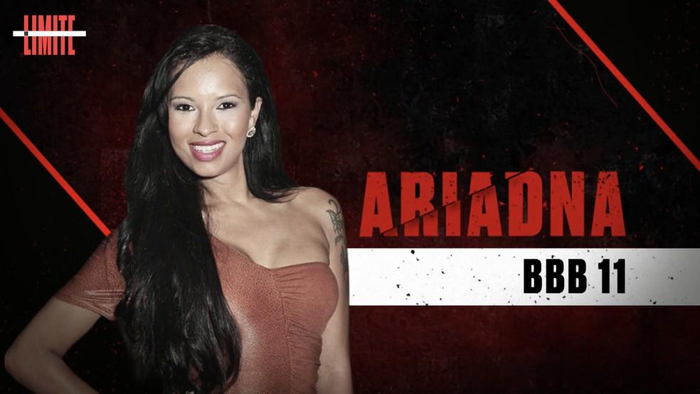 Ariadna é uma das participantes do 'No Limite' ? Foto: Globo
