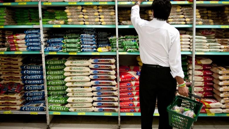 economia-supermercadi-arroz-feijao (Foto: Agência Brasil)