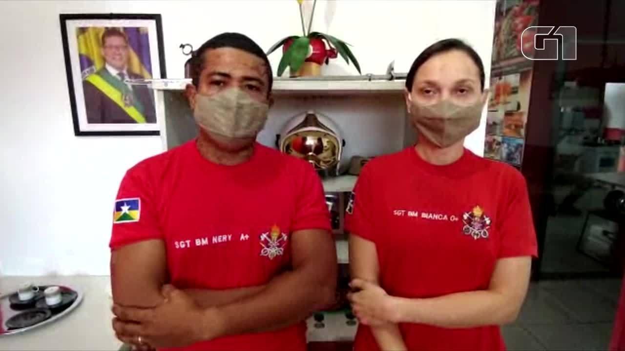 Corpo de bombeiros explica situação de criança que ficou com a penela presa na cabeça