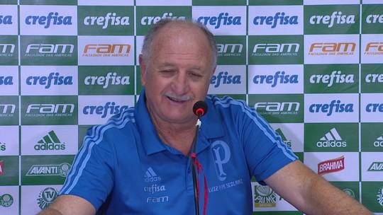"""Felipão mira novo recorde no Palmeiras e diz: """"Deyverson faz falta em qualquer time"""""""
