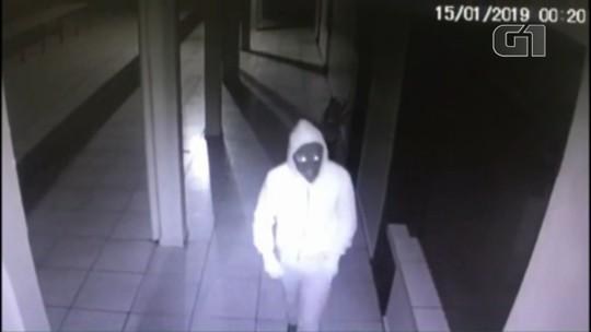 Ladrão invade escola em Coronel Vivida e furta equipamentos; VÍDEO