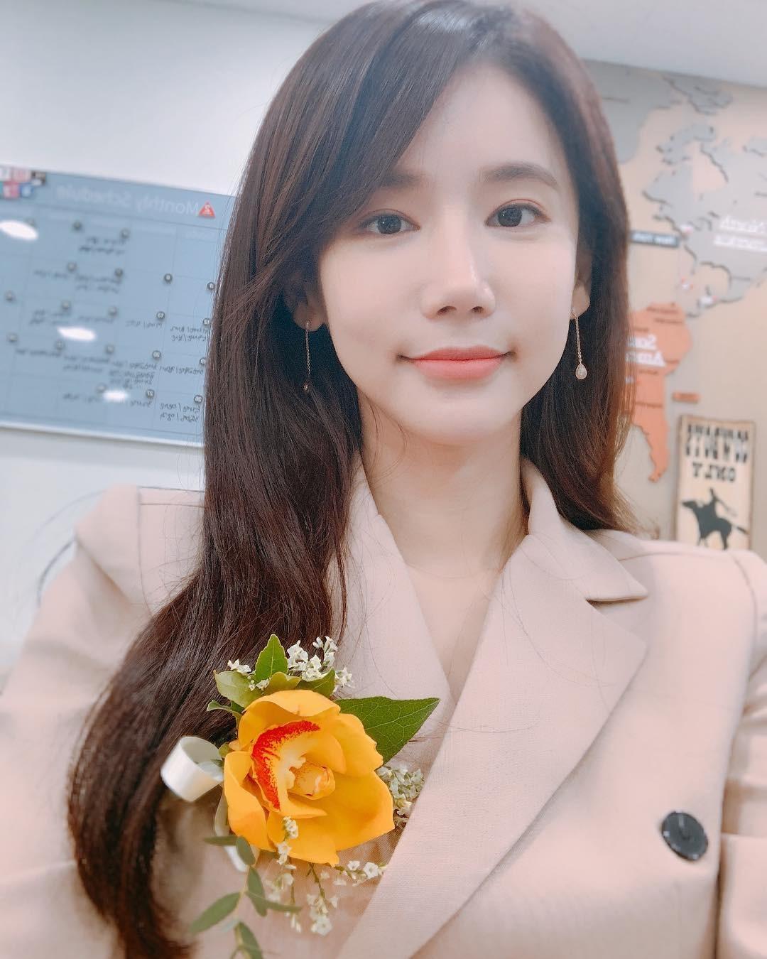 A atriz sul-coreana Oh In Hye (Foto: Reprodução Instagram)