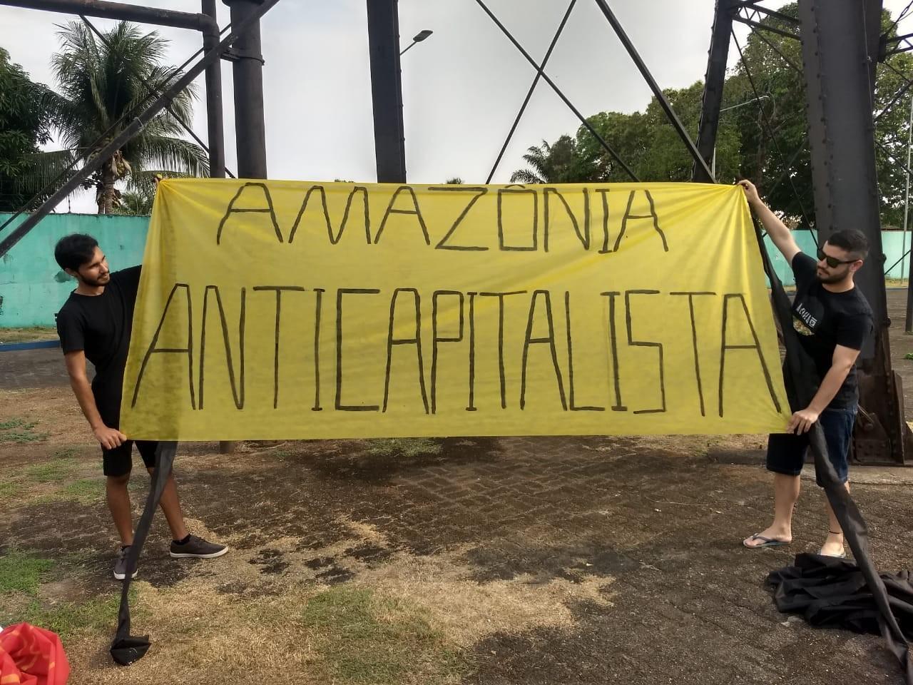 Manifestantes fazem ato em Porto Velho em defesa da Amazônia - Notícias - Plantão Diário