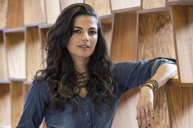 É Emanuelle Araújo, a protagonista da série da Netflix 'Samantha', prevista para este ano (Foto: Estevam Avellar/TV Globo)