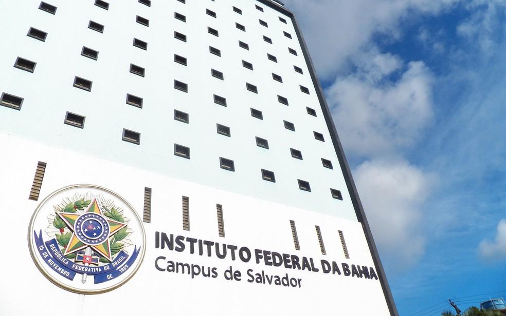 IFBA abre inscrições para seleção de professores — Foto: Lilian Caldas/Divulgação