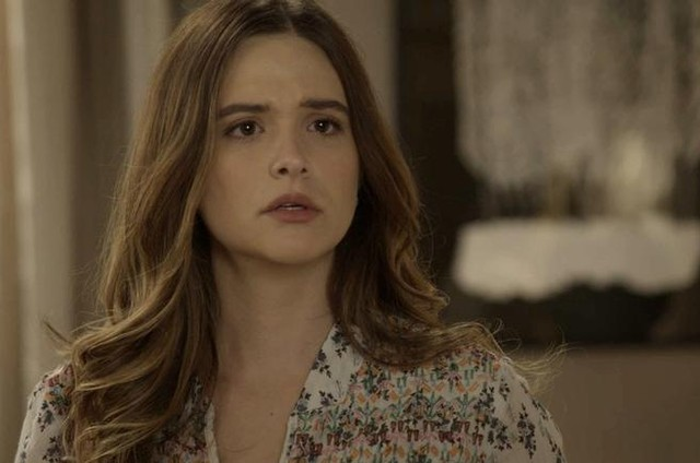 Juliana Paiva é Luna em 'Salve-se quem puder' (Foto: TV Globo)