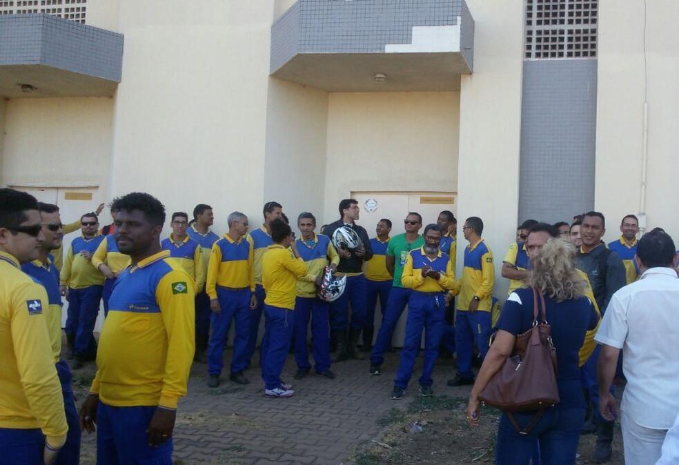 Greve dos Correios foi considerada abusiva pela Justiça (Foto: Sintect/Divulgação)