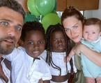 Bruno Gagliasso com Giovanna Ewbank e os filhos | Reprodução