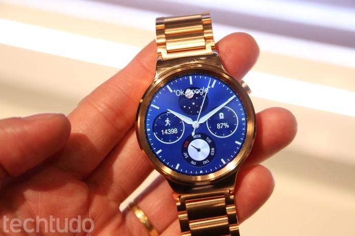 Huawei Watch (Foto: Fabrício Vitorino/TechTudo)