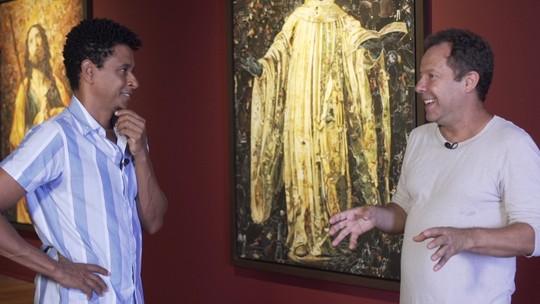 Sábado, 13: conheça um artista que transforma café, sangue, lixo e diamantes em obra de arte
