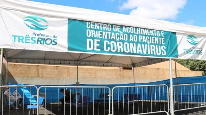 Três Rios cria centro de triagem para atender casos suspeitos de coronavírus