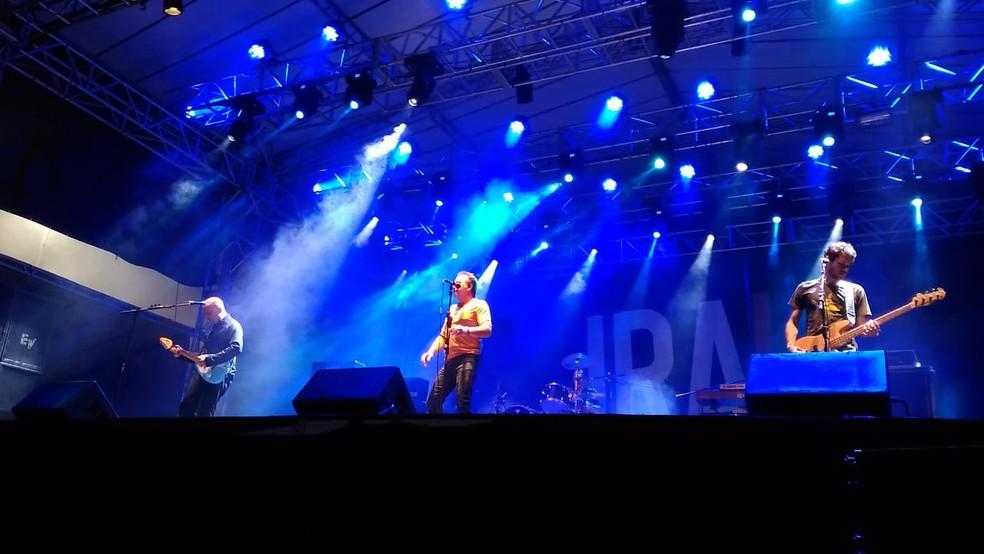 Show do Ira! em Sorocaba foi marcado por uma briga na plateia (Foto: Aline Albuquerque/G1)